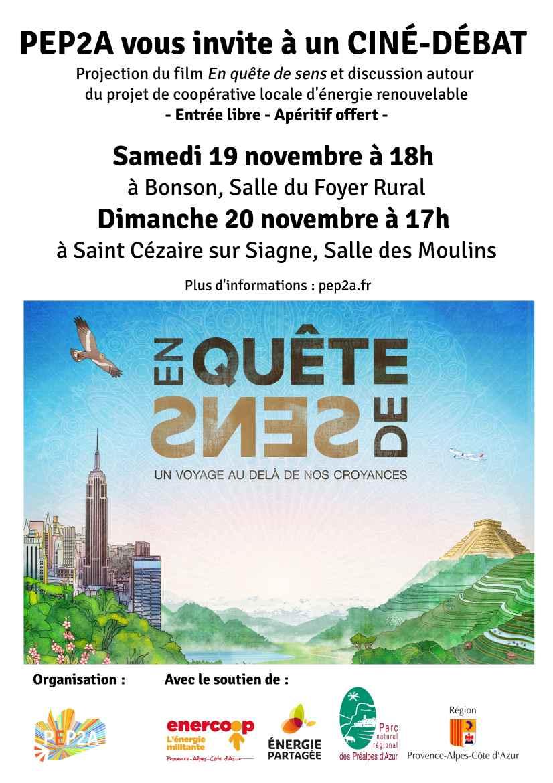Ciné Débats du 19 et 20 novembre