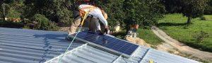 montage démùontage panneau photovoltaïque